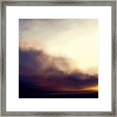 At Dusk Framed Print by Lonnie Christopher