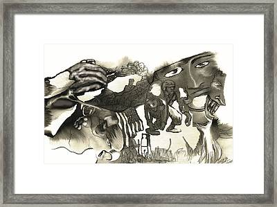 At Ease Never Framed Print by Valera Ainsworth