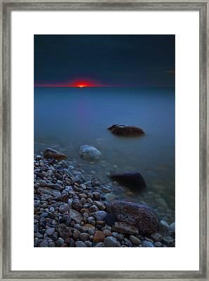 At First Light Framed Print