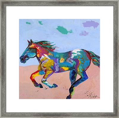 At Full Gallop Framed Print by Tracy Miller