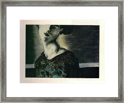At Her Gaze Framed Print