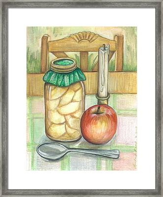 At Home Still Life Framed Print