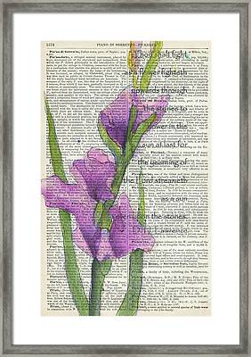 At Last In The Sunlight 2 Framed Print by Maria Hunt