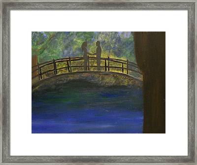 At Last... Framed Print by Katrice Kinlaw