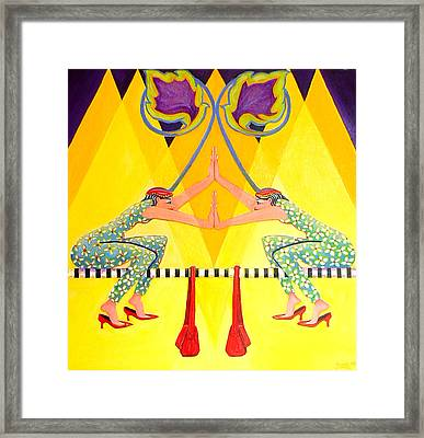 At Least There Framed Print by Joetta Currie