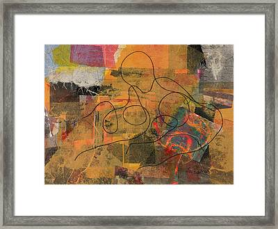 At Loose Ends Framed Print