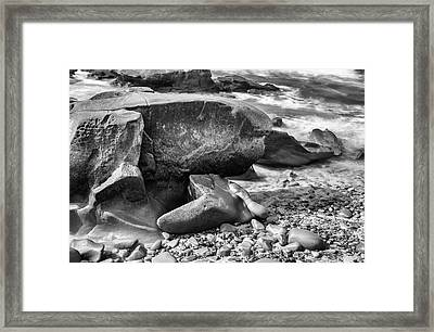 At Low Tide Framed Print by Joseph S Giacalone