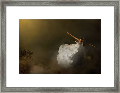 At Maximum Power Framed Print by Antonio Grambone