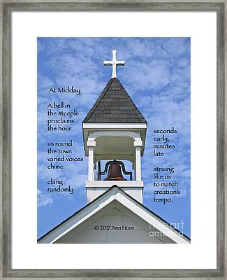 At Midday Framed Print by Ann Horn