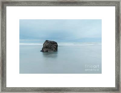 At Neptune Beach, Or Framed Print