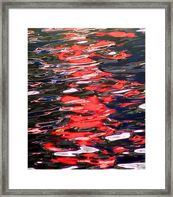 Framed Print featuring the photograph At Peace by David Dunham