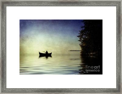 At Peace Framed Print by Joel Witmeyer