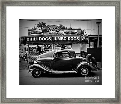 At Peter's 2 Framed Print by Perry Webster