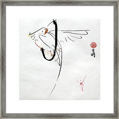 At Play Framed Print by Ming Yeung