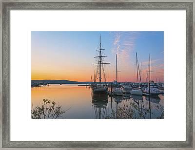 At Rest At Dawn Framed Print