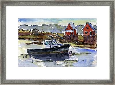 At Rest Framed Print by Mary Byrom