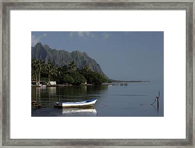 At Rest, Oahu Framed Print