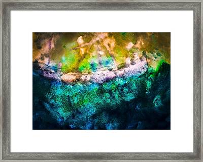 At Sea Framed Print