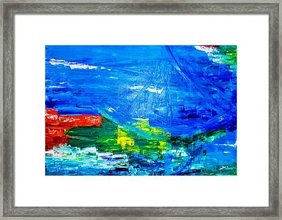 At Sea Framed Print by Piety Dsilva