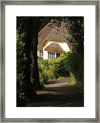 At Selworthy Framed Print