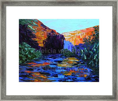 At Sunset 1 Framed Print