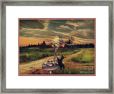 At Sunset  Framed Print by Pemaro