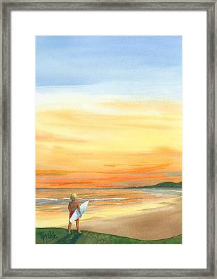 At Sunset Framed Print by Ray Cole