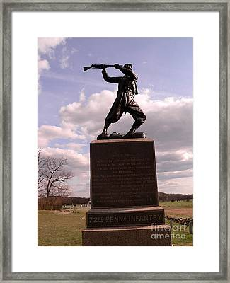 At The Angle Framed Print