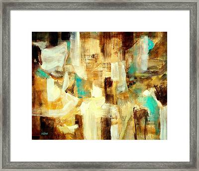 At The Bazaar Framed Print