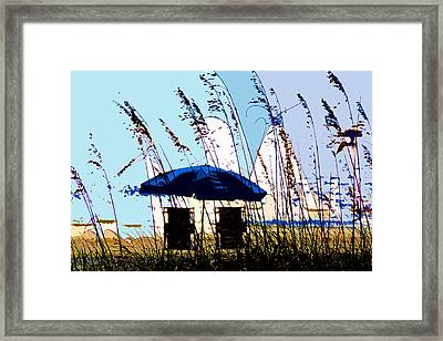 At The Beach Framed Print by David Lee Thompson