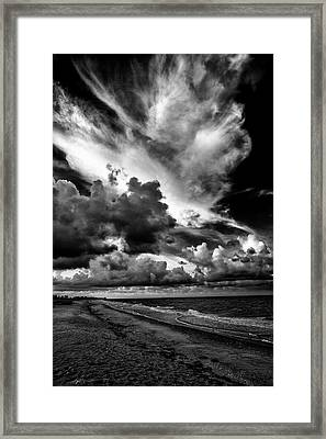 At The Beach Framed Print by Kevin Cable