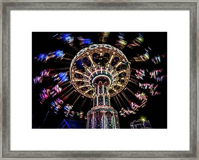At The Boardwalk Framed Print by Mary D'Urso