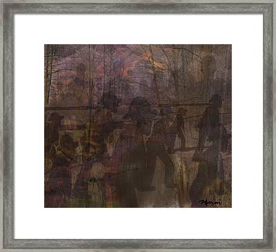 At The Break Of Dawn Framed Print