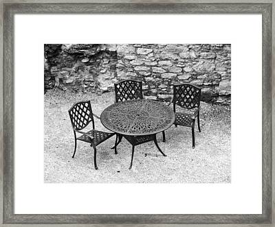 At The Castle Framed Print by Rae Tucker