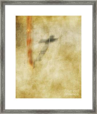At The Cross Framed Print by Anita Faye