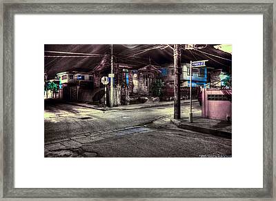 At The Crossroads... Framed Print by Sarita Rampersad