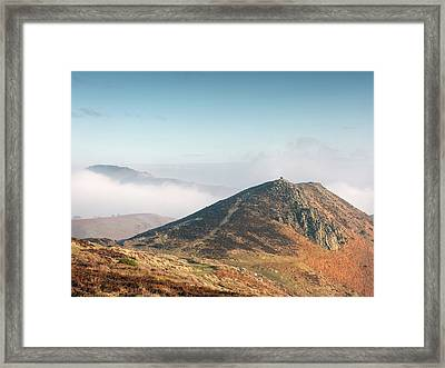 At The Devil's Mouth Framed Print by Richard Greswell