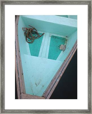 Framed Print featuring the photograph At The Dock by Olivier Calas