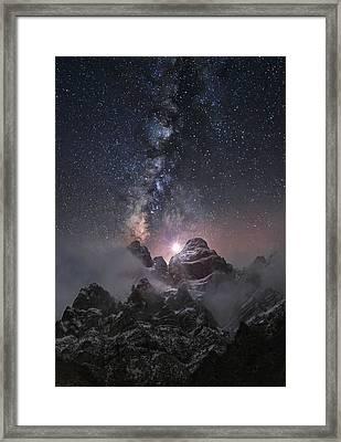 At The Edge Of The World Framed Print by Chriskaddas