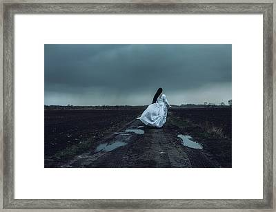 At The End Of It All Framed Print by Art of Invi