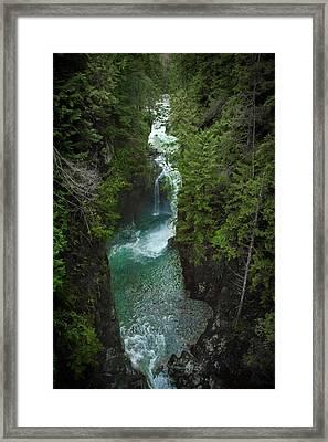 Wonderful Waterfall Framed Print