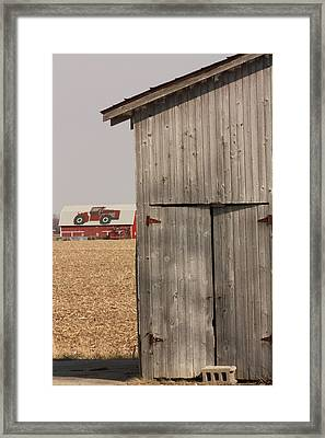 At The Farm Framed Print by Bruce McEntyre