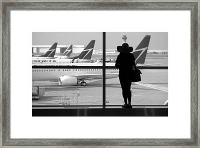 At The Gate Framed Print