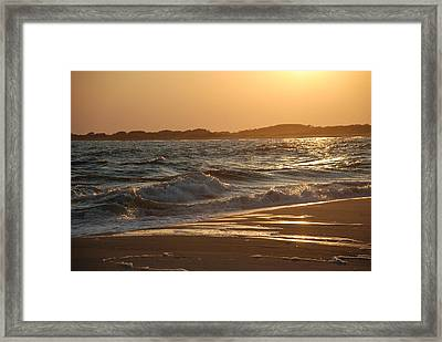 Framed Print featuring the photograph At The Golden Hour by Richard Bryce and Family
