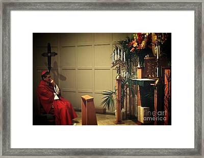 At The Heart Of Everything Framed Print