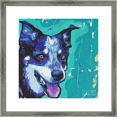 At The Heel Framed Print by Lea S