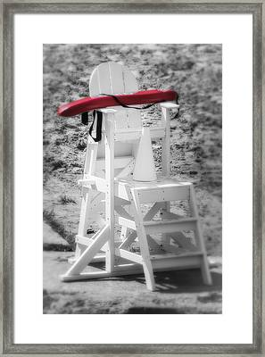 At The Lake Framed Print by Michael Demagall