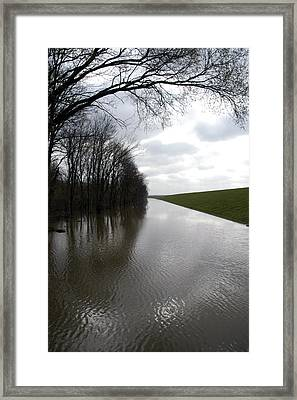 At The Levee Framed Print by DArcy  Evans