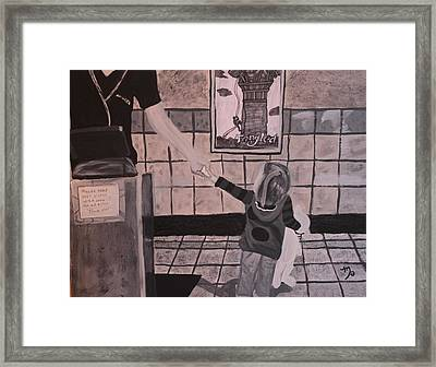 At The Movies Framed Print by Miki Proud