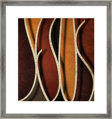 At The Name Of Jesus Framed Print by Shevon Johnson